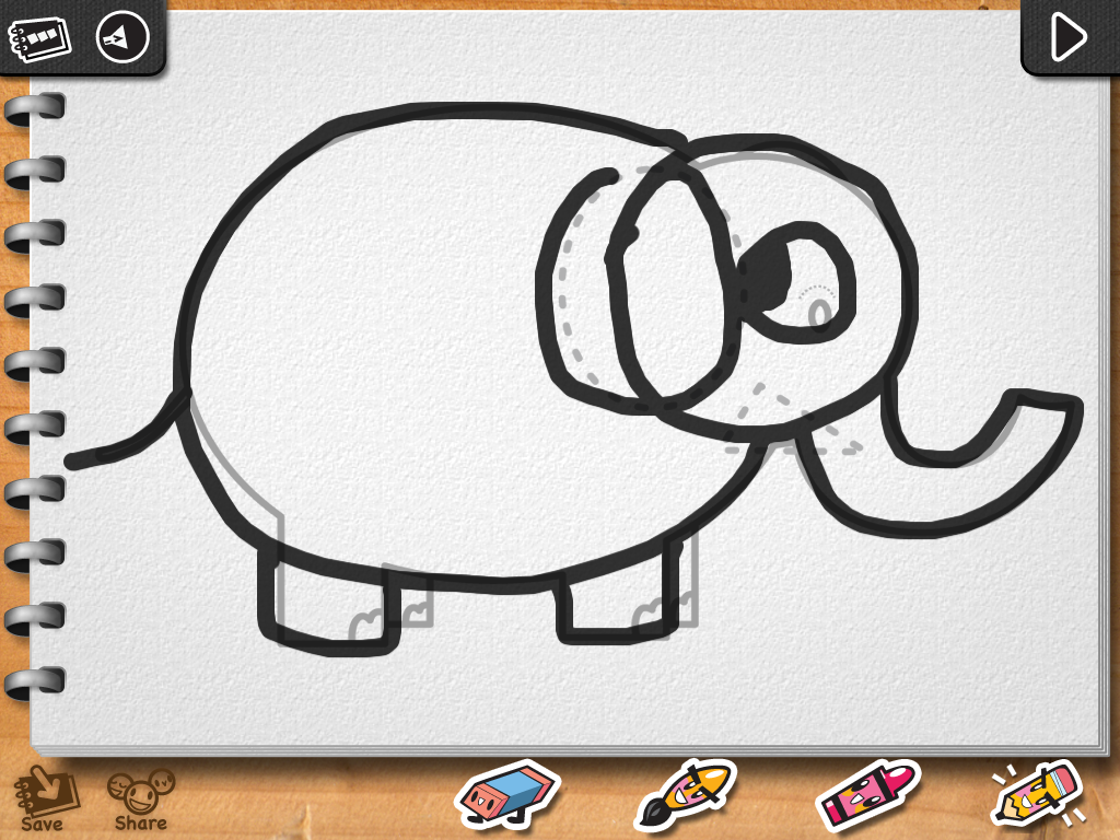 i luv drawing animals ipad app softpill u0027s blog